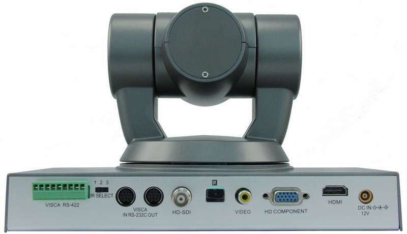 HD SONY Module 20x Optical Zoom And 12x Digital Zoom PTZ Video Conference Camera Back